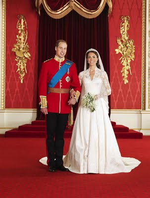 Kate and William official wedding photos