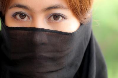 Islam Woman w Veil