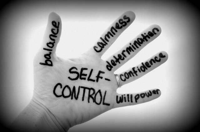 Self-control One of the greatest gifts we can have