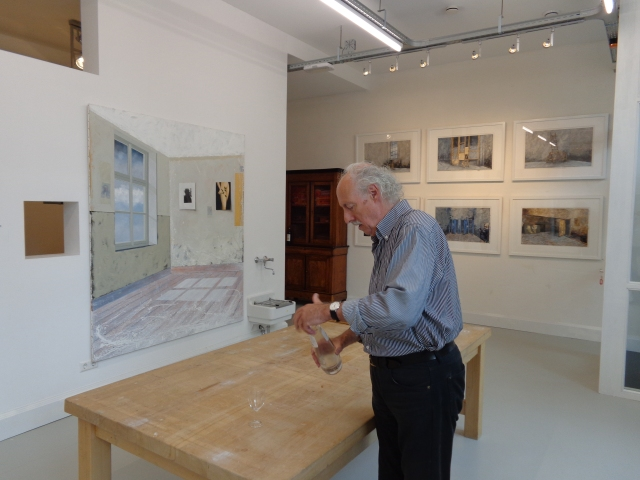 The day before the opening of the 2014 exhibition of the new Art Galery Van NulandDSC00016
