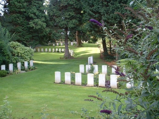 St Symphorien Military cemetry
