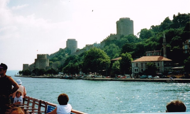 Boat-trip on the Bosporus - Istanbul 1992