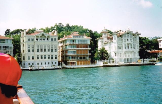 Boottrip op de Bosphorus - Istanbul 1992  f32b