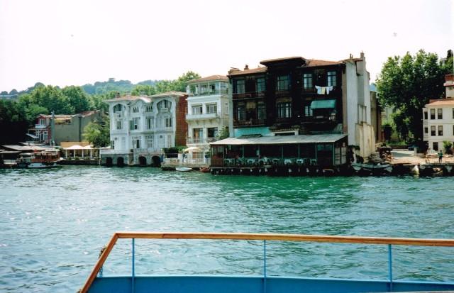 Boottrip op de Bosphorus - Istanbul 1992  f32c