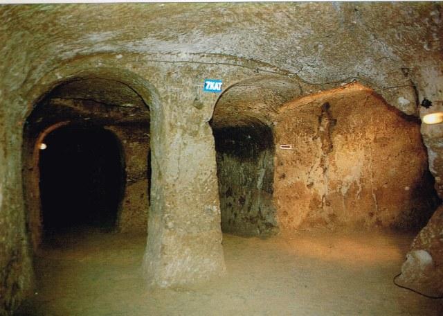Church under the ground - Cappadocia - Nevsehir Valiligi - 1992