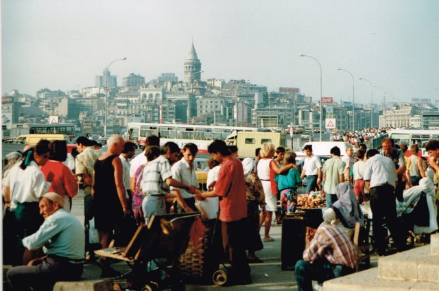 The ever busy city Istanbul in 1992