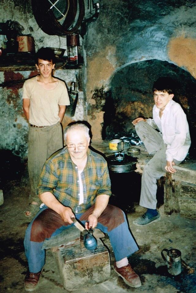 Turkijë Cappadocian arbeidersatelier 1992