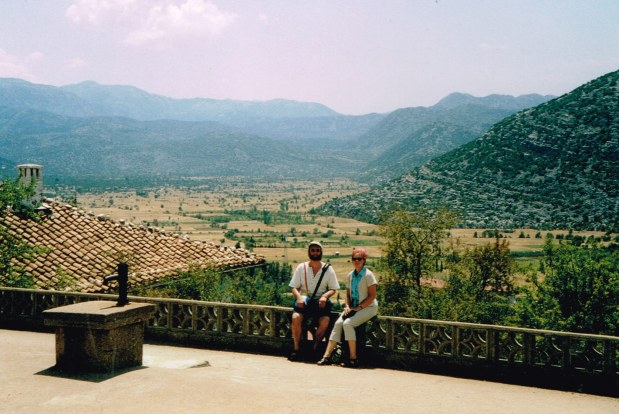 Taurus Mountains, Mr Marcus Ampe & Mrs Marjolein Pronk in Anatolya province 2002