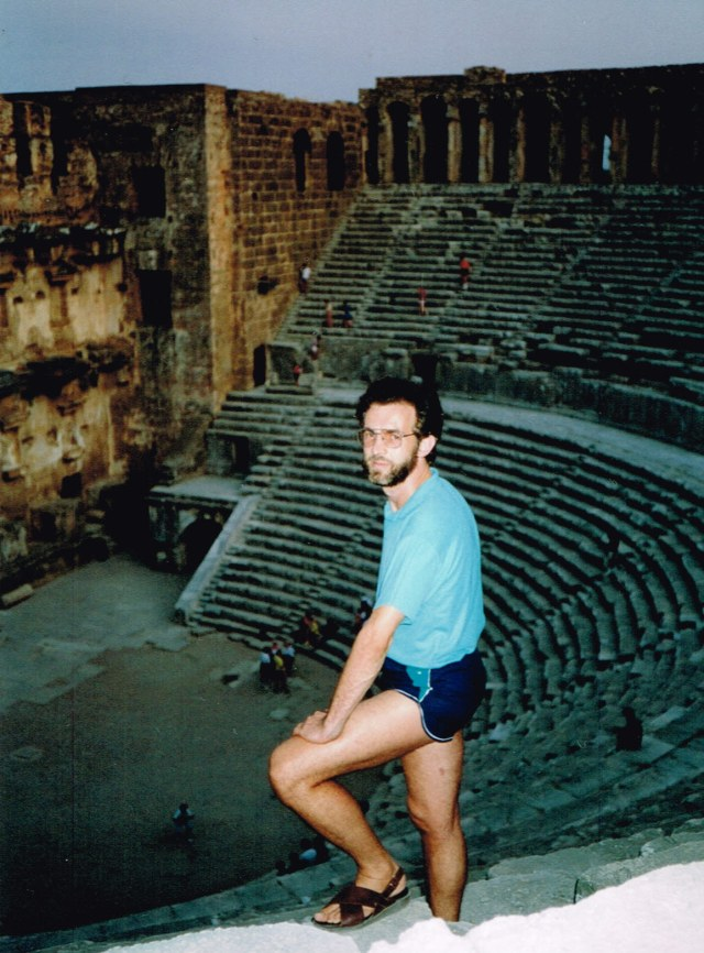 A marvelous place to bring theatre performances: Aspendos - 1992 Marcus
