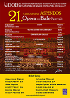 19 th Anniversary, International Aspendos Opera and Ballet Festival, 2014