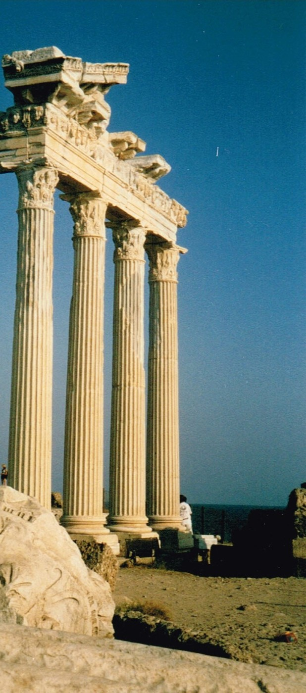 Wonders of antiquity in Side - 2002