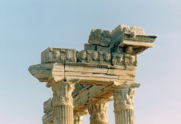 Detail of temple in Side  - 2002
