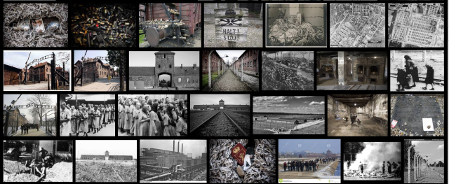Auschwitz Birkenau - Gate to hell. - Poort naar de hel