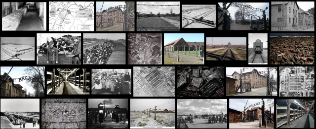 Auschwitz Birkenau - A huge place where people had to look  every second into the face of life and death - een onnoemelijk grote verschrikkelijke plaats waar men elke second leven en dood in de ogen moest zien