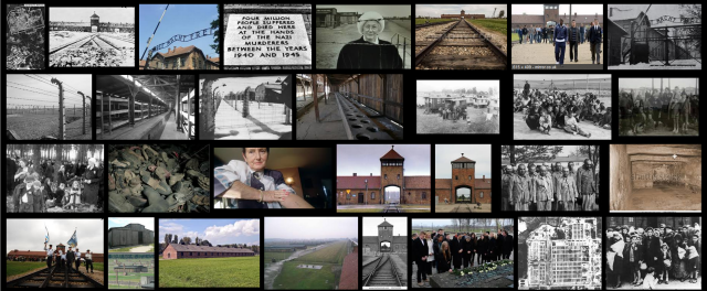Auschwitz Birkenau entrance to the world of the dead