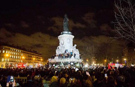 Charlie Hebdo Paris resilience