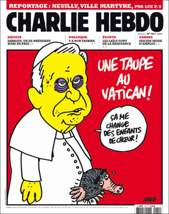 Charlie Hebdo mocked with many religious groups, nobody was saved for criticism