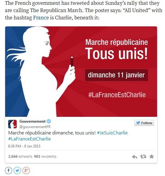 Marche républicaine 2015 Jan 11