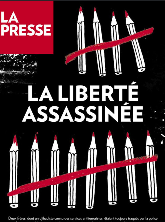 Charlie Hebdo terrorist attack on Freedom of press