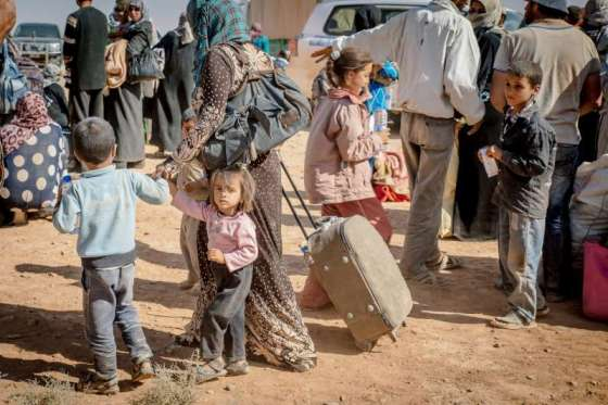 Syrians, for the first time, have become the largest refugee population under UNHCR's mandate.