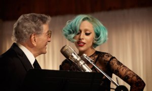 Pop star Lady Gaga and crooner Tony Bennett collaborating on a big-band Jazz program of Rodgers and Hart music