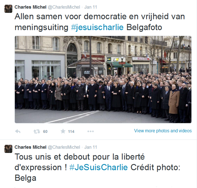 World-leaders united in Paris on Sunday 11 January 2015