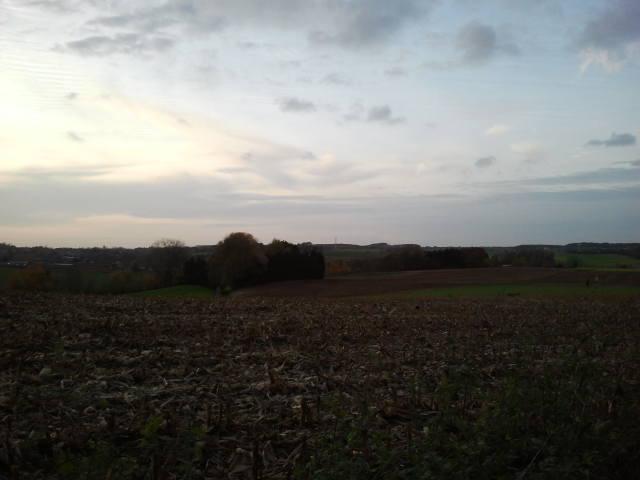 View from / Zicht vanop de heuvels aan de / Nollekensweg