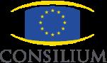 Logo of the European Consilium or Council of the European Union, the legislative body of the European Union - Logo van de Raad van de Europese Unie, het Wetgevend orgaan van de Europese Unie