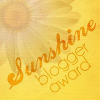 2010-2015 words delivering a Sunshine Award