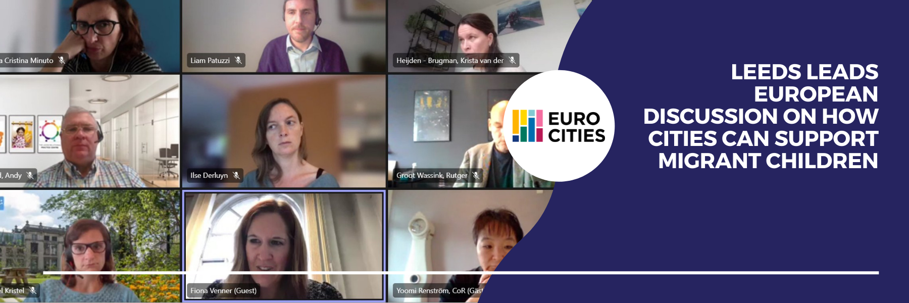 Leeds leads European discussion on how cities can support migrant children