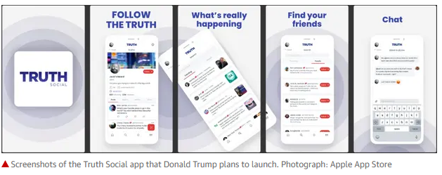 New social platform supposedly open to truth